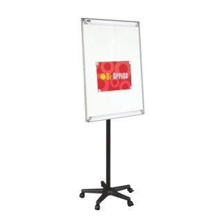 Flipchart mobilny BI-OFFICE, 70x102cm, tablica suchoś. -magn, Flipcharty, Prezentacja
