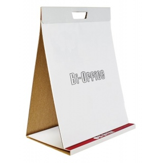 Flipchart-blok BI-OFFICE, samoprzylepny, 50x58,5cm, gładki