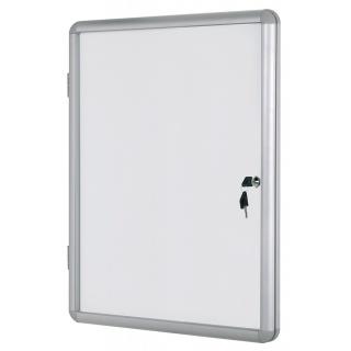 Gablota suchoś. -magn. BI-OFFICE, 9xA4, 67x93cm, biała, Gablotki, Prezentacja