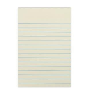 Bloczek samoprzylepny DONAU, 101x150mm, w linię, 1x100 kart., 75gsm, żółty