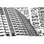 Litery samoprzylepne APLI, 10mm, czarne, Etykiety samoprzylepne, Papier i etykiety