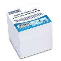 Kostka DONAU nieklejona, 90x90x90mm, ok. 800 kart., biała, Kostki, Papier i etykiety