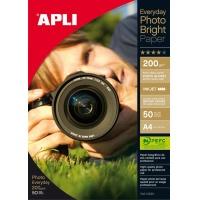 Papier fotograficzny APLI Everyday Photo Paper, A4, 200gsm, błyszczący, 50ark., Papiery specjalne, Papier i etykiety