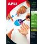 Papier fotograficzny APLI Glossy Laser Paper, A4, 160gsm, błyszczący, 100ark., Papiery specjalne, Papier i etykiety