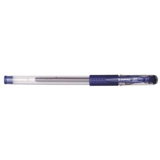 Długopis żelowy DONAU z wodoodpornym tuszem 0,5mm, niebieski