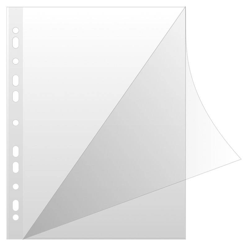 Koszulki na dokumenty DONAU, typ L, PP, A4, krystal, 150mikr., 50szt., Koszulki i obwoluty, Archiwizacja dokumentów
