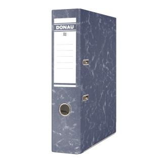 Segregator DONAU Eco, kartonowy, A4/75mm, granatowy, Segregatory kartonowe, Archiwizacja dokumentów