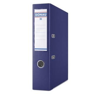 Segregator DONAU Premium, PP, A4/75mm, granatowy, Segregatory polipropylenowe, Archiwizacja dokumentów