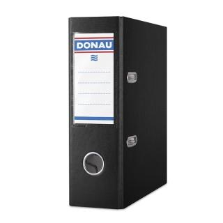 Segregator DONAU Master, PP, A5/75mm, czarny, Segregatory polipropylenowe, Archiwizacja dokumentów