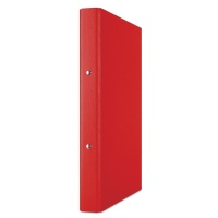 Segregator ringowy DONAU, PP, A4/2R/20mm, czerwony, Segregatory ringowe, Archiwizacja dokumentów