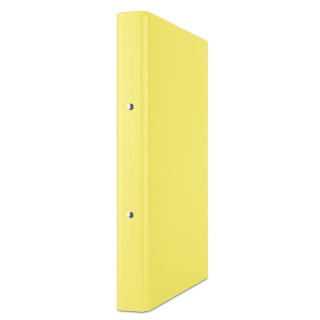 Segregator ringowy DONAU, PP, A4/2R/20mm, żółty, Segregatory ringowe, Archiwizacja dokumentów