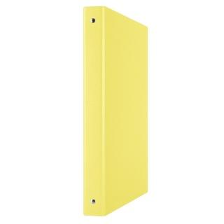 Segregator ringowy DONAU, PP, A4/4R/20mm, żółty, Segregatory ringowe, Archiwizacja dokumentów