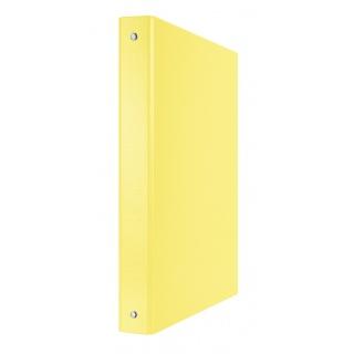 Segregator ringowy DONAU, PP, A4/4R/30mm, żółty, Segregatory ringowe, Archiwizacja dokumentów