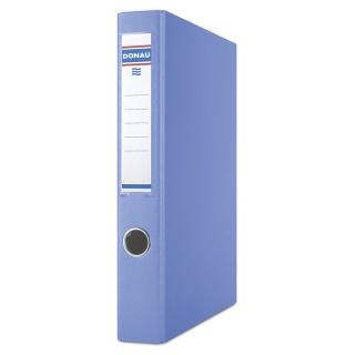 Segregator ringowy DONAU, PP, A4/4RD/30mm, niebieski, Segregatory ringowe, Archiwizacja dokumentów
