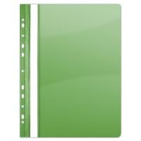 Skoroszyt DONAU, PVC, A4, twardy, 150/160mikr., wpinany, zielony, Skoroszyty do segregatora, Archiwizacja dokumentów