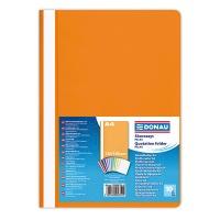 Skoroszyt DONAU, PP, A4, standard, 120/180mikr., pomarańczowy, Skoroszyty podstawowe, Archiwizacja dokumentów