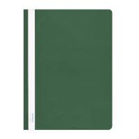 Skoroszyt DONAU, PVC, A4, twardy, 150/160mikr., zielony, Skoroszyty podstawowe, Archiwizacja dokumentów