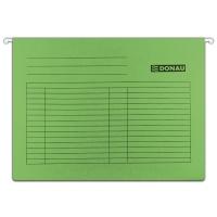 Teczka zawieszkowa DONAU, A4, 230gsm, zielona, Teczki zawieszkowe, Archiwizacja dokumentów