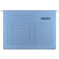 Teczka zawieszkowa DONAU, A4, 230gsm, niebieska, Teczki zawieszkowe, Archiwizacja dokumentów