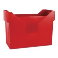 Mini archiwum DONAU, plastikowe, czerwone