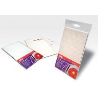 Krążek mocujący płyty CD/DVD do dokumentów APLI, 35szt. kółeczek, Kleje, Drobne akcesoria biurowe