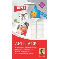 Masa mocująca APLI Apli-Tack, podzielona, 75g, biała, Kleje, Drobne akcesoria biurowe