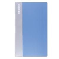 Wizytownik DONAU, PP, na 240 wizytówek, jasnoniebieski, Wizytowniki, Drobne akcesoria biurowe