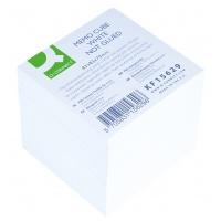 Kostka Q-CONNECT nieklejona, 83x83x75mm, ok. 750 kart., biała, Kostki, Papier i etykiety