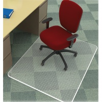 Mata pod krzesło Q-CONNECT, na dywany, 120x90cm, prostokątna, Maty, Wyposażenie biura