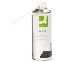 Sprężone powietrze Q-CONNECT, niepalne, 300ml, Środki czyszczące, Akcesoria komputerowe