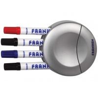 Gąbka do tablicy FRANKEN, magnetyczna, zintegrowany uchwyt na markery, Bloki, magnesy, gąbki, spraye do tablic, Prezentacja