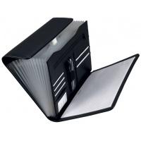 Teczka ALASSIO Vado, skóra ekologiczna, 330x260x40mm, czarna, Torby, teczki i plecaki, Akcesoria komputerowe
