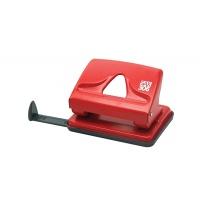 Dziurkacz SAX306, dziurkuje do 20 kartek, czerwony, Dziurkacze, Drobne akcesoria biurowe