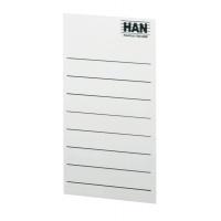 Etykiety samoprzylepne do pojemników na magazyny HAN, szaro-białe, Etykiety opisowe, Papier i etykiety