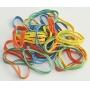 Gumki krzyżowe Q-CONNECT, 0,1kg, średnica 50mm, mix kolorów