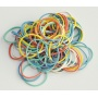 Gumki recepturki Q-CONNECT, 25g, mix kolorów, Gumki recepturki, Drobne akcesoria biurowe