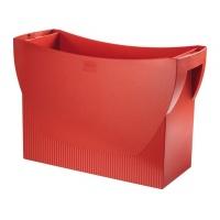 Pojemnik na teczki zawieszkowe HAN Swing, polistyren, A4, czerwony