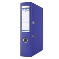 Segregator DONAU Premium, PP, A4/75mm, ciemnoniebieski, Segregatory polipropylenowe, Archiwizacja dokumentów