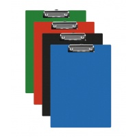 Clipboard Q-CONNECT Board, PVC, A5, assorted colours