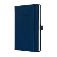 Notatnik SIGEL Conceptum® okładka w prążki, A5, w kratkę, granatowy, Notatniki, Zeszyty i bloki