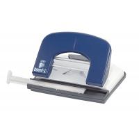 Dziurkacz ICO Boxer P1, dziurkuje do 15 kartek, niebieski, Dziurkacze, Drobne akcesoria biurowe