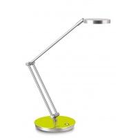 Lampka na biurko CEP CLED-400, 7, 5W, ze ściemniaczem, srebrno-zielona, Lampki, Urządzenia i maszyny biurowe