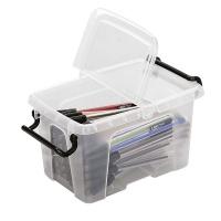 Pojemnik biurowy CEP Smartbox, 1, 7l, transparentny, Pudła, Wyposażenie biura