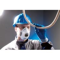 Półmaska ochronna SPIROTEK VS2200CV FFP2, 10 szt., biała, Maski, Ochrona indywidualna