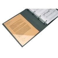 Kieszeń samoprzylepna Q-CONNECT, narożna, 75x75mm, 10szt., transparentna, Kieszonki samoprzylepne, Drobne akcesoria biurowe
