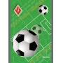 Blok biurowy A4, 50 kart., 60gsm, w linie, Football 2011