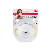 Półmaska ochronna z zaworkiem 3M Cool Flow FFP1 (8812), ręczne szlifowanie, Maski, Ochrona indywidualna