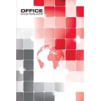 Brulion OFFICE PRODUCTS, A5, w kratkę, 96 kart., 70gsm, Bruliony, Zeszyty i bloki
