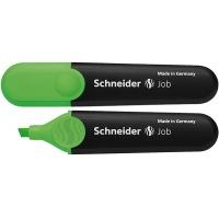 Zakreślacz SCHNEIDER Job, 1-5 mm, zielony, Textmarkery, Artykuły do pisania i korygowania