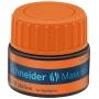 Stacja uzupełniająca SCHNEIDER Maxx 660, 30 ml, pomarańczowy, Textmarkery, Artykuły do pisania i korygowania